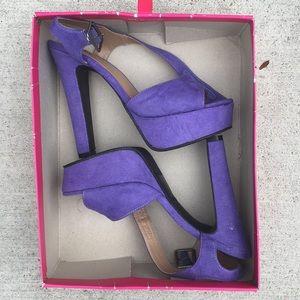 Candies suede heels